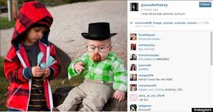 breaking bad costume of kids in viral breaking bad photo sets record