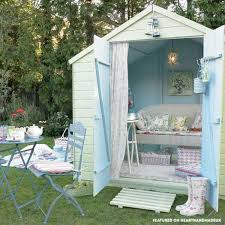 pretty shed who else wants a pretty pastel shed shabby chic garden shabby