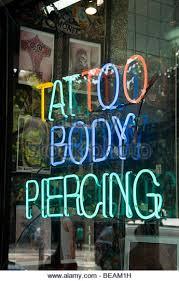 tattoo parlor sign stock photos u0026 tattoo parlor sign stock images