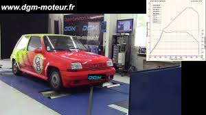 renault super 5 préparation dgm renault super 5 gt turbo 199ch youtube