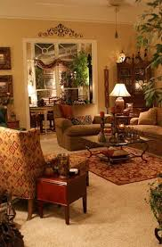 traditional living room ideas country style with small end table
