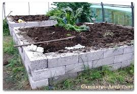 concrete block garden bed u2013 exhort me