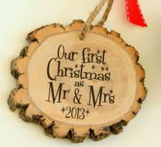 our as mr mrs new modern ornament