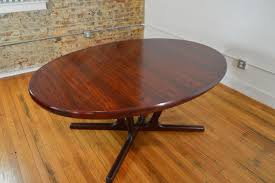 interform collection danish rosewood extension dining table