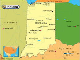 indiana map us road map of indiana