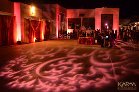 karma event lighting for weddings and special events