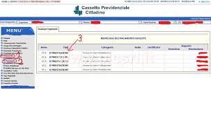 cassetto previdenziale cittadino inps pagamento prestazioni inps per ctu e consulenti pronto