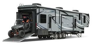 garage for rv 2017 seismic toy hauler jayco inc