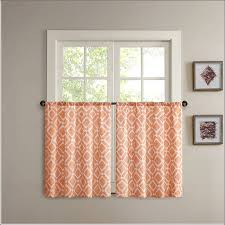 Bright Colored Kitchen Curtains Kitchen Rust Colored Curtains Orange Sheer Curtains Spice