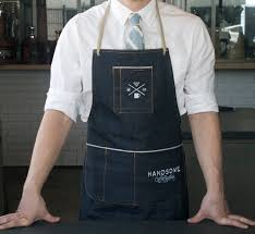 Designer Kitchen Aprons by I Love These Handsome X Nudie Organic Selvedge Denim Aprons Hand