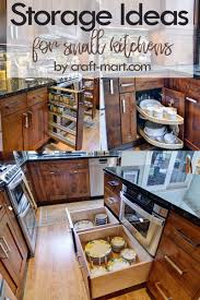 kitchen cabinet ideas small kitchens 14 clever storage ideas for small kitchens craft mart
