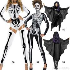 halloween costumes cosplay theme party service new skeleton ghost