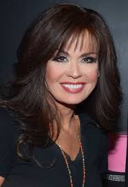marie osmond hairstyles feathered layers 42nd annual daytime emmy awards press room burbank california