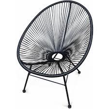 acapulco chaise s garden fauteuil acapulco chaise oeuf design rétro cordage