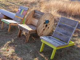 Faircompanies Furniture Prices by Relaxshacks Com Adirondack Chairs From Free Wooden Spools