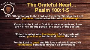 the grateful thanksgiving living ppt