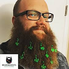 beard ornaments beardaments st s day beard ornaments beard