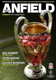 Chions League 236 Best European Chions League Returns To Anfield Images On
