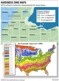 Perrysburg Ohio Map by Revised Usda Hardiness Zone Maps Affect Those Planting In Nw Ohio