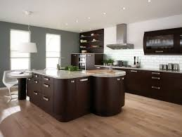 Apartment Kitchen Ideas Contemporary Small Apartment Kitchen Design With Solid Knotty Pine