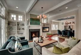 Delighful Family Room Ideas With Tv Living Fireplace And - Family room design with tv