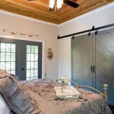 Rustic Bedroom Doors - gray rustic bedroom photos hgtv