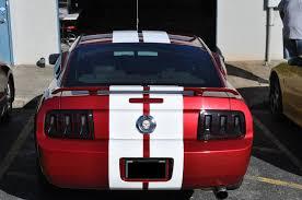 Pink And Black Mustang Racing Skins Burgundy Mustang U2013 Gloss White G2g Racing Stripes