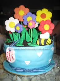Homemade Flowers Cute Homemade Flower Pot Cake Flower Pot Cake Oreo And Fondant