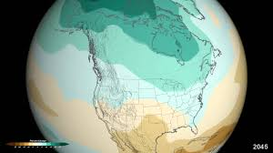 Rainfall Map Usa by Nasa Projected U S Precipitation Changes By 2100 Youtube