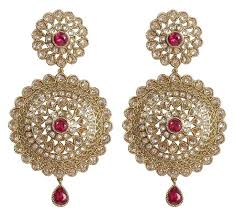 big ear rings indian traditional big earrings with drop for women manufacturer
