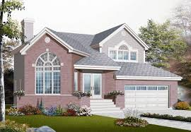multi level home plan 3 bedrms 1 5 baths 1830 sq ft 126 1063