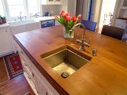 Wood Tops For Kitchen Islands Spellbinding Wood Top Kitchen Islands With Undermount Square
