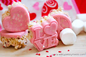 valentines day chocolate s day chocolate molded rice crispy treats easy peasy meals