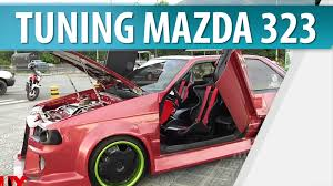 pagina de mazda autos modificados mazda 323 tuning en muy masculino youtube