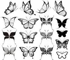 butterfly sketch pesquisa tattoos