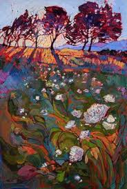 Impressionist Landscape Painting by A Contemporary Masterpiece Of Light And Color By Modern