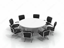 Conference Table With Chairs Conference Table And Chairs U2014 Stock Photo Apttone 3930343