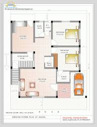 1500 sq ft home duplex house plan and elevation sq ft home appliance remarkable