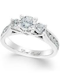 Macys Wedding Rings by Blue Sapphire U0026 Diamond 14kt White Gold Ring Xmas Wish List