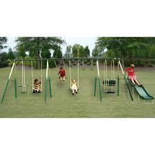 Lawn Swing Sportspower The Adventure Play 8 Leg Swing Set Shop Your Way