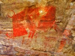 bhimbetka rock shelters galleries of the most ancient art