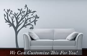 tree wall decor decal with leaves a wall vinyl decor graphic art tree wall decor decal with leaves a wall vinyl decor graphic art for home decor handmade x large 2170