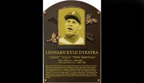 Former Phillie Lenny Dykstra Talks About Life And His New - lenny dykstra rants on the baseball hall of fame s hypocrisy
