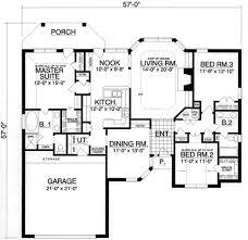 european style house plan 3 beds 2 baths 1844 sq ft plan 40 357