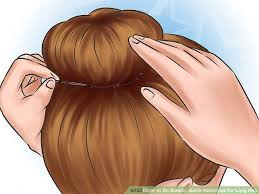 hairstyles for bed wiki how 4 ways to do simple quick hairstyles for long hair wikihow
