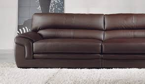 Bachelli Leather Sofa  Seater Delux Deco Furniture - 4 seat leather sofa