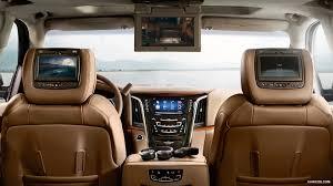 cadillac escalade 2013 interior 2015 cadillac escalade platinum rear seat entertainment
