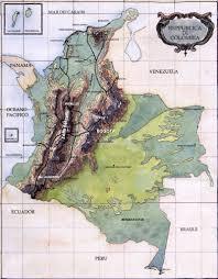 Terrain Map Colombia Terrain Map Colombia U2022 Mappery