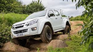 isuzu dmax lifted glacier climbing isuzu d max artic trucks launches in uk