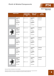 fiat clutch u0026 related components page 73 sparex parts lists